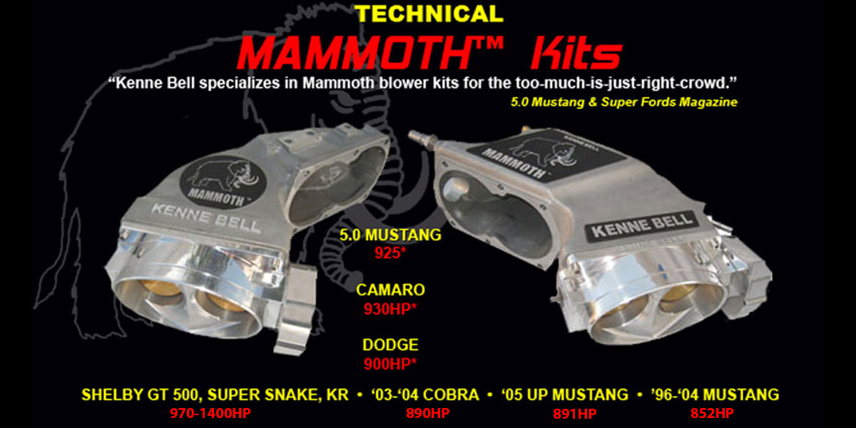 Mammoth System Kit | Kenne Bell