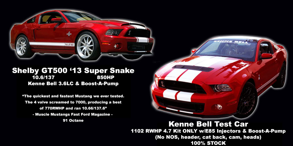 Mustang Shelby GT500 2007-Up | Kenne Bell